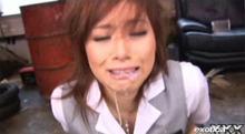 宮澤ケイトを調教!無修正でやばい迫力!宮沢ケイト