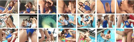 AV女優:加斗レア「欲望に引き裂かれた純潔」競泳水着で放尿あり!
